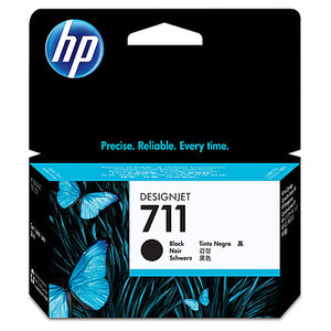 Original HP 711 Black  Ink Cartridge (CZ129A)