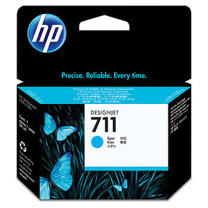 Original HP 711 Cyan Ink Cartridge (CZ130A)