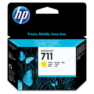 Original HP 711 Yellow Ink Cartridge (CZ132A)