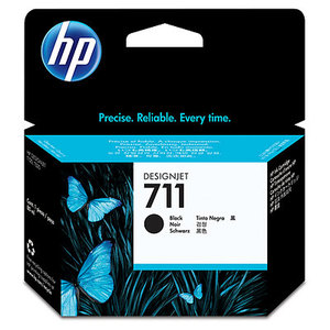 Original HP 711 Black High Capacity Ink Cartridge (CZ133A)