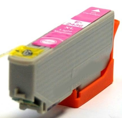 Compatible Epson 24XL High Capacity Light Magenta Ink Cartridge (T2436)