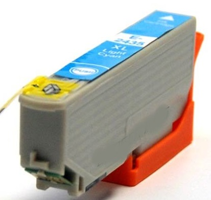 Compatible Epson 24XL High Capacity Light Cyan Ink Cartridge (T2435)