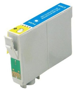 Epson Compatible 502XL Cyan High Capacity Ink Cartridge (T02W2)
