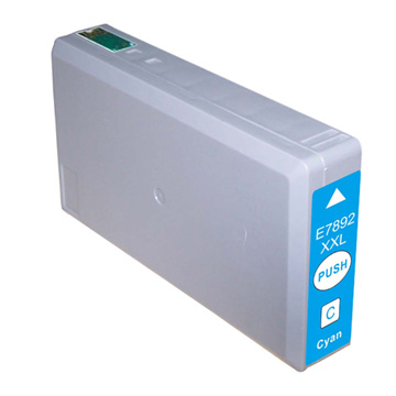 Compatible Epson 78XXL (T7892) Cyan High Capacity Ink Cartridge