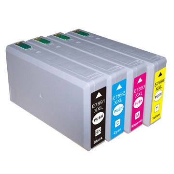 Compatible Epson 78XXL Full Set of High Capacity Ink Cartridges Black/Cyan/Magenta/Yellow