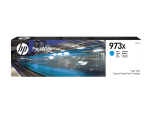 Original HP 973X Cyan High Capacity Inkjet Cartridge (F6T81AE)