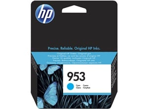 Original HP 953 Cyan Inkjet Cartridge (F6U12AE)