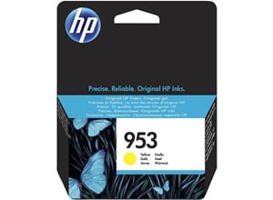 HP Original 953 Yellow Inkjet Cartridge (F6U14AE)