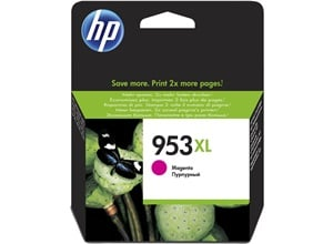Original HP 953XL Magenta High Capacity Inkjet Cartridge (F6U17AE)