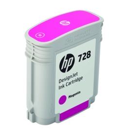 Original HP 728 Magenta Inkjet Cartridge (F9J62A)