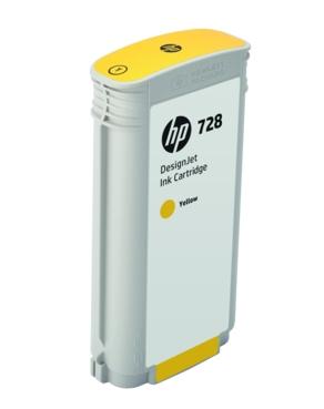 Original HP 728 Yellow High Capacity Inkjet Cartridge (F9J65A)