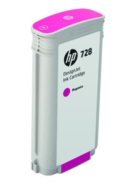 Original HP 728 Magenta High Capacity Inkjet Cartridge (F9J66A)