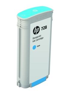 Original HP 728 Cyan High Capacity Inkjet Cartridge (F9J67A)