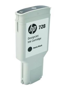 Original HP 728 Matt Black Extra High Capacity Inkjet Cartridge (F9J68A)