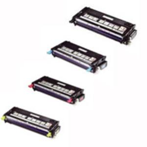 Original Dell H51 High Capacity Toner Cartridge Multipack (Black/Cyan/Magenta/Yellow)