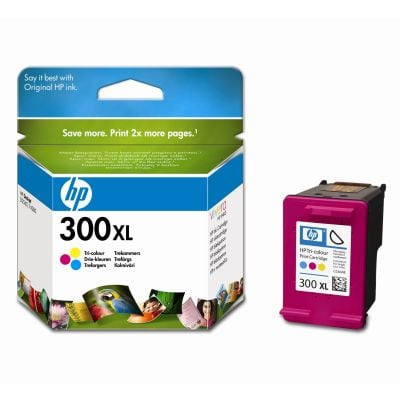 HP 300XL (CC644EE) Original High Capacity Colour Ink cartridge