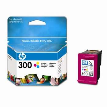 HP 300 (CC643EE) Original Standard Capacity Colour Ink cartridge