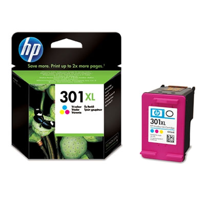 HP 301XL (CH564EE) Original High Capacity Colour Ink cartridge