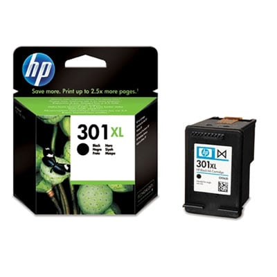 HP 301XL (CH563EE) Original High Capacity Black Ink cartridge