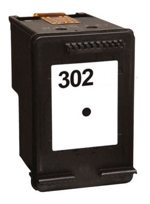 Remanufactured HP 302 (F6U66AE) High Capacity Black Ink Cartridge