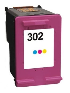 Remanufactured HP 302 (F6U65AE) High Capacity Colour Ink Cartridge