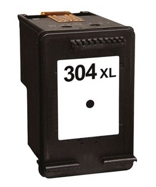 Remanufactured HP 304XL (N9K08AE) High Capacity Black Ink Cartridge