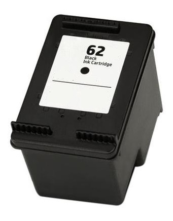 Remanufactured HP 62 (C2P04AE) High Capacity Black Ink Cartridge