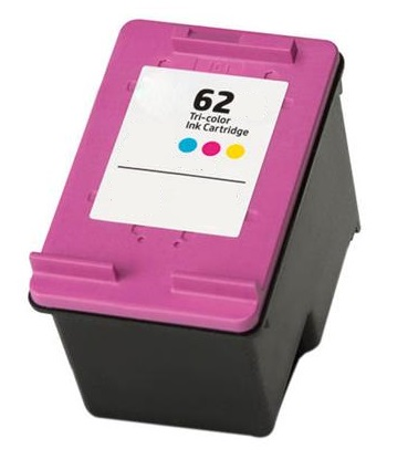Remanufactured HP 62 (C2P06AE) High Capacity Colour Ink Cartridge