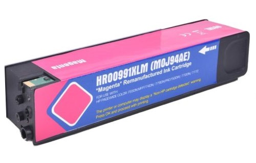 Compatible HP 991X Magenta High Capacity Ink Cartridge M0J94AE