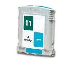 Compatible HP 11 (C4836AN) High Capacity Cyan Ink Cartridge