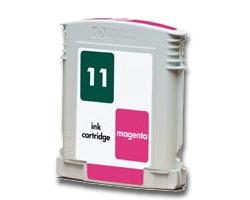 Compatible HP 11 (C4837AN) High Capacity Magenta Ink Cartridge