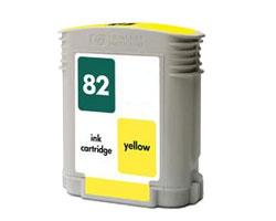 Compatible HP 82 (C4913A) High Capacity Yellow Ink Cartridge