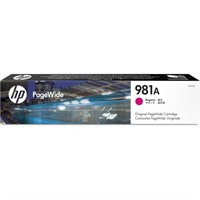 Original HP 981A Magenta Inkjet Cartridge (J3M69A)