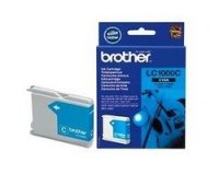 Original Brother LC1000C Cyan Inkjet Cartridge