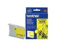 Original Brother LC1000Y Yellow Inkjet Cartridge