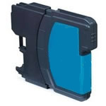 Brother LC1100C Compatible Cyan Inkjet Cartridge
