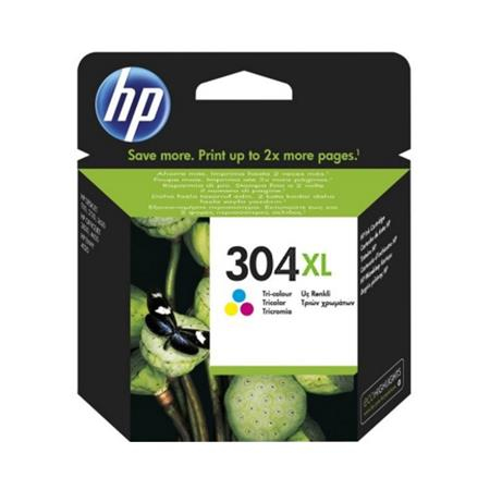 Original HP 304XL Tri-Colour High Capacity Inkjet Cartridge (N9K07AE)