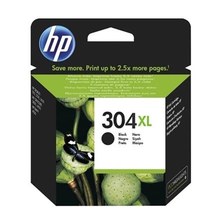 Original HP 304XL Black High Capacity Inkjet Cartridge (N9K08AE)