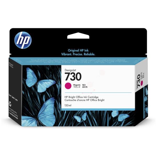 Original HP 730 Magenta Inkjet Cartridge P2V63A