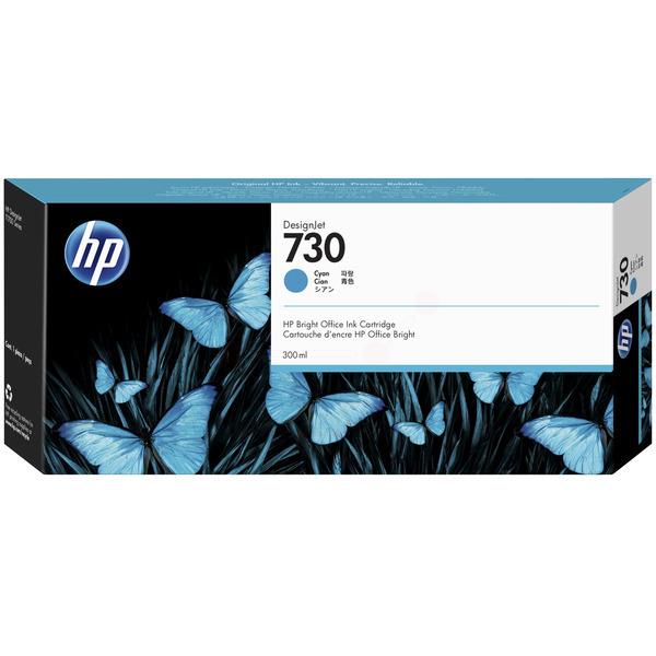 Original HP 730 Cyan High Capacity Inkjet Cartridge P2V68A