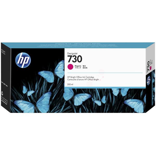Original HP 730 Magenta High Capacity Inkjet Cartridge P2V69A
