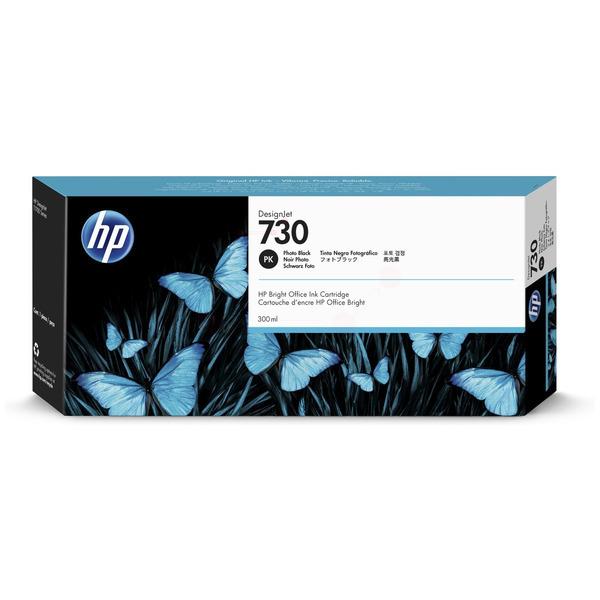 Original HP 730 Photo Black High Capacity Inkjet Cartridge P2V73A
