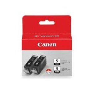 PGI-5BK Original Canon Twin Pack Black Ink Cartridges