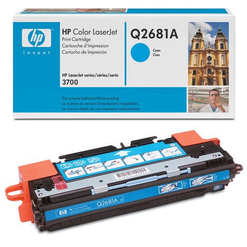 HP Original Q2681A High Capacity Cyan Toner Cartridge