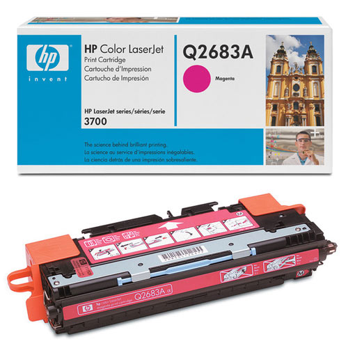 HP Original Q2683A High Capacity Magenta Toner Cartridge
