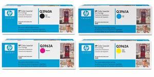 Original HP Q396 Toner Cartridge Multipack (Q3960A/Q3961A/Q3962A/Q3963A)