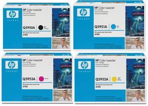 HP Original Q595 Toner Cartridge Multipack (Black/Cyan/Magenta/Yellow)