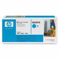 Original Q6001A HP Cyan Toner Cartridge