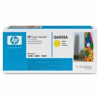 Original Q6002A HP Yellow Toner Cartridge