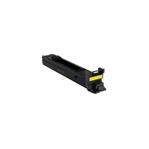 Konica Minolta A0DK252 Yellow Compatible Toner Cartridge
